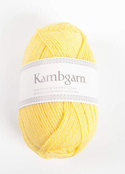 Icelandic sweaters and products - Kambgarn - 1211 Buttercup Kambgarn Wool Yarn - NordicStore