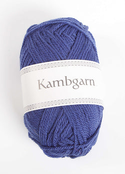 Icelandic sweaters and products - Kambgarn - 1213 Blue Iris Kambgarn Wool Yarn - NordicStore