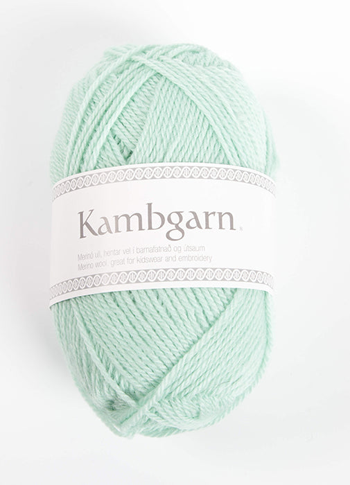 Icelandic sweaters and products - Kambgarn - 1217 Glacier Green Kambgarn Wool Yarn - NordicStore