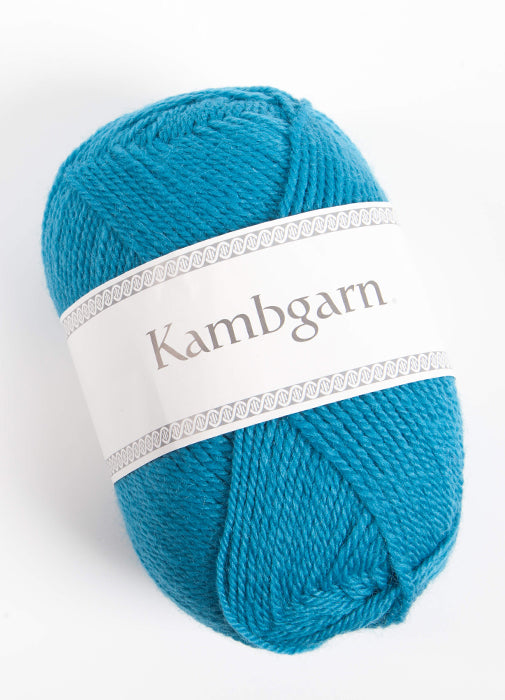 Icelandic sweaters and products - Kambgarn - 1218 Peacock Kambgarn Wool Yarn - NordicStore