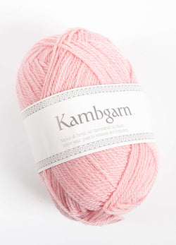 Icelandic sweaters and products - Kambgarn - 1222 Blush Kambgarn Wool Yarn - NordicStore