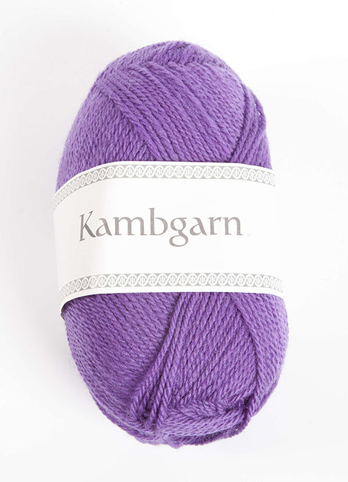 Icelandic sweaters and products - Kambgarn - 1224 Violet Kambgarn Wool Yarn - NordicStore