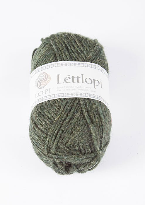 Icelandic sweaters and products - Lett Lopi 1407 - pine green heather Lett Lopi Wool Yarn - NordicStore