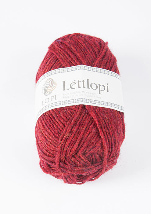 Icelandic sweaters and products - Lett Lopi 1409 - garnet red heather Lett Lopi Wool Yarn - NordicStore