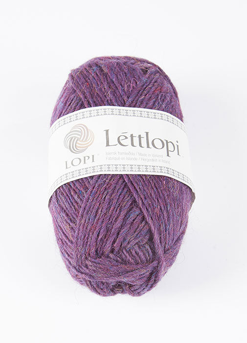 Icelandic sweaters and products - Lett Lopi 1414 - violet heather Lett Lopi Wool Yarn - NordicStore