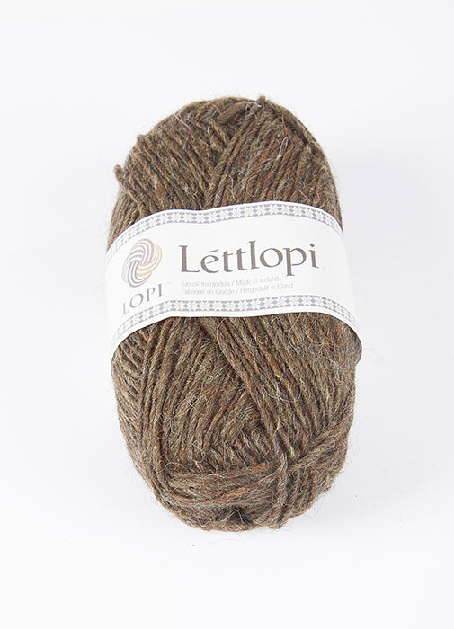 Icelandic sweaters and products - Lett Lopi 1416 - moor Lett Lopi Wool Yarn - NordicStore