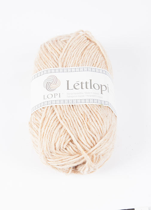 Icelandic sweaters and products - Lett Lopi 1418 - straw Lett Lopi Wool Yarn - NordicStore