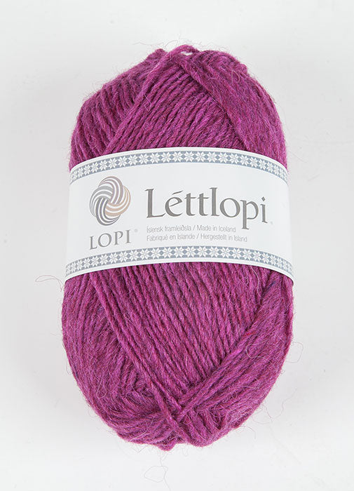 Icelandic sweaters and products - Lett Lopi 1705 - royal fuchsia Lett Lopi Wool Yarn - NordicStore