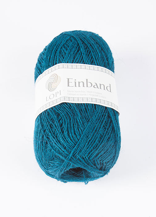 Icelandic sweaters and products - Einband 1761 Wool Yarn - Teal Einband Wool Yarn - NordicStore