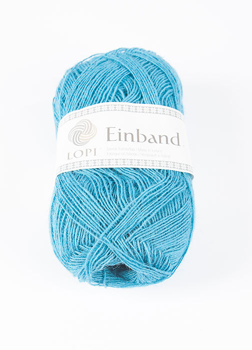Icelandic sweaters and products - Einband 1762 Wool Yarn - Turquoise Einband Wool Yarn - NordicStore