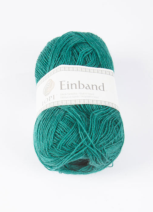 Icelandic sweaters and products - Einband 1763 Wool Yarn - Green Einband Wool Yarn - NordicStore