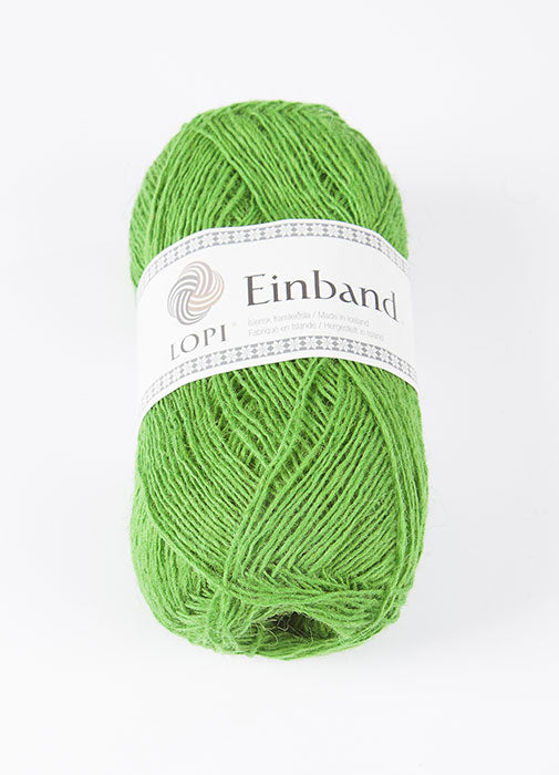 Icelandic sweaters and products - Einband 1764 Wool Yarn - Vivid Green Einband Wool Yarn - NordicStore