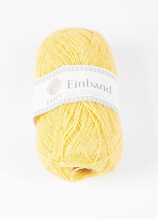 Icelandic sweaters and products - Einband 1765 Wool Yarn - Yellow Einband Wool Yarn - NordicStore