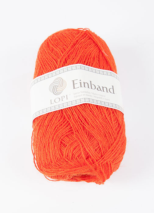 Icelandic sweaters and products - Einband 1766 Wool Yarn - Orange Einband Wool Yarn - NordicStore