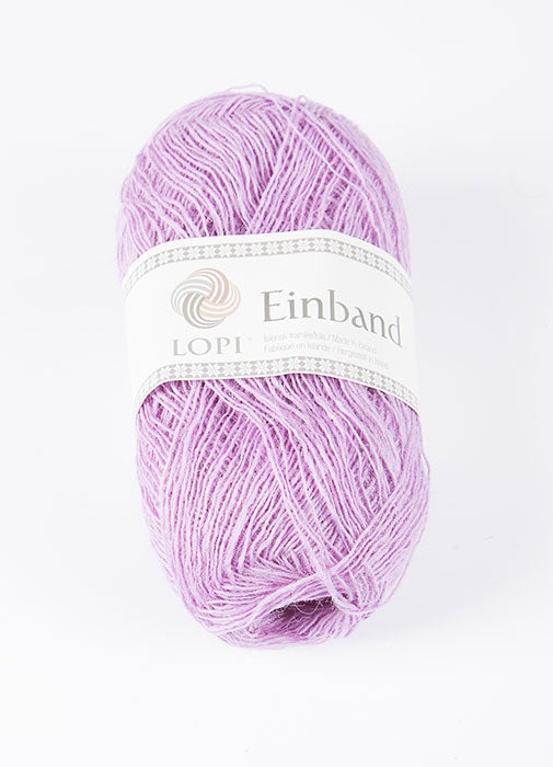 Icelandic sweaters and products - Einband 1767 Wool Yarn - Lavander Einband Wool Yarn - NordicStore
