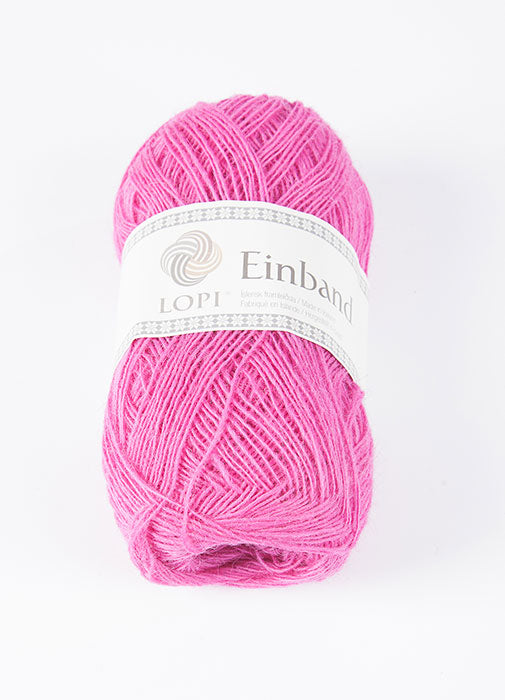 Icelandic sweaters and products - Einband 1768 Wool Yarn - Pink Einband Wool Yarn - NordicStore