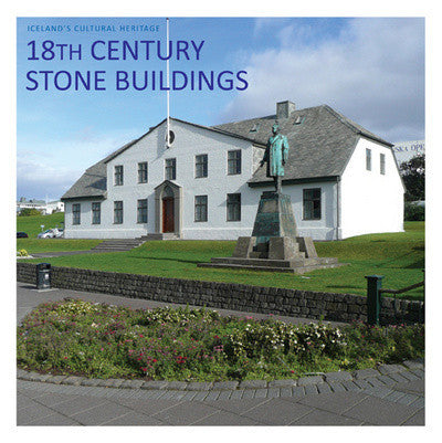 Icelandic Products 18th Century Stone Buildings Book - NordicStore