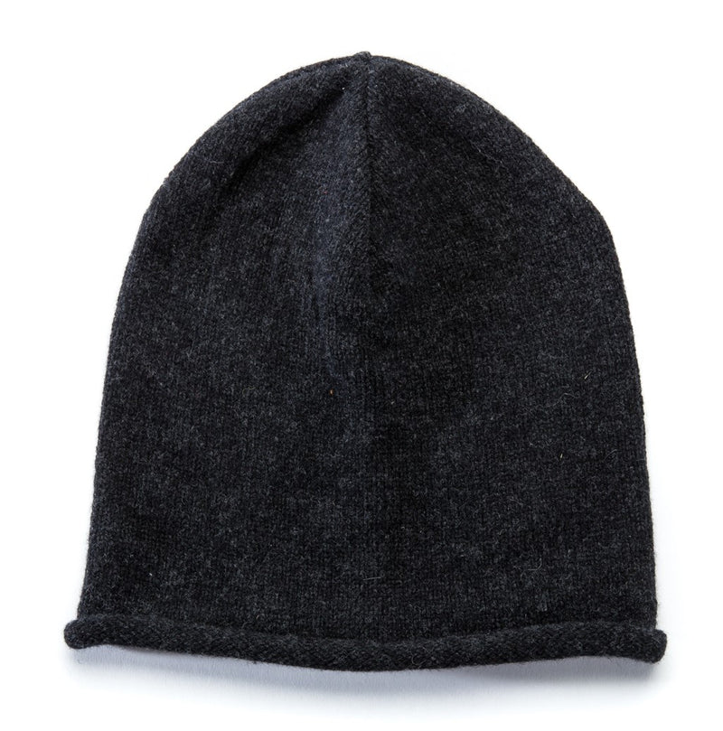 Wool Hat Dark Grey