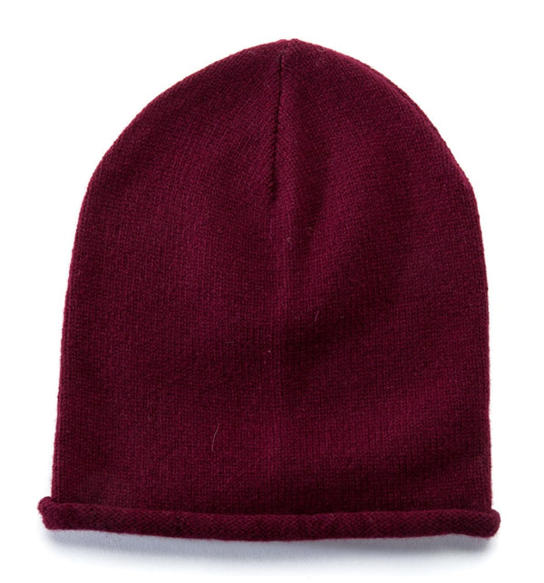 Wool Hat Burgundy