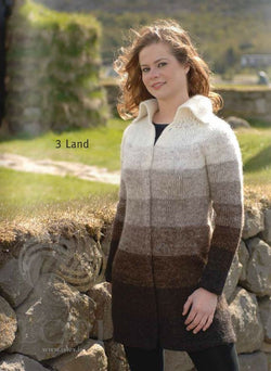 - Icelandic Land Women Wool Coat - Tailor Made - Nordic Store Icelandic Wool Sweaters  - 1