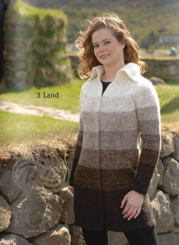 Icelandic sweaters and products - Land Women Wool Coat Tailor Made - NordicStore