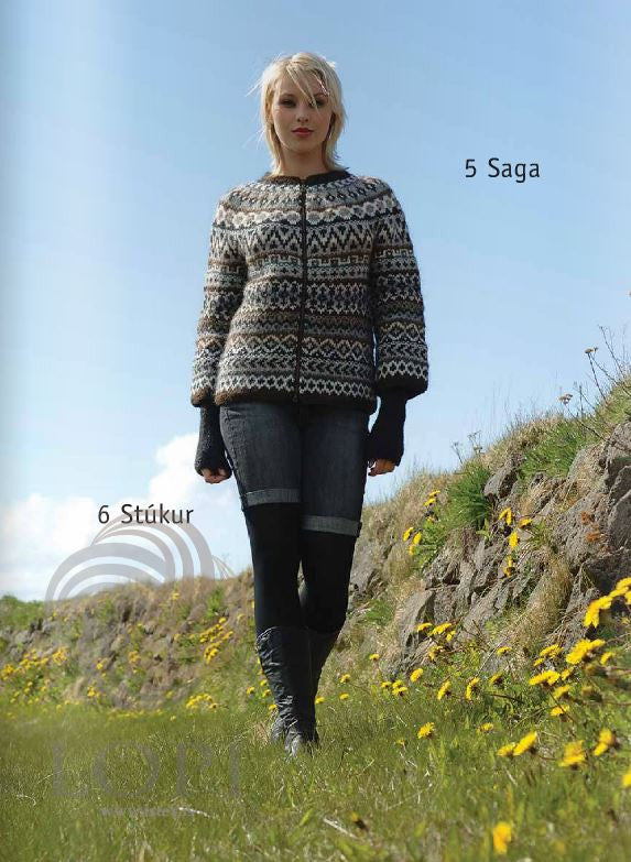 Icelandic sweaters and products - Saga (Story) Women Wool Cardigan Tailor Made - NordicStore