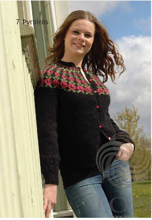 Icelandic sweaters and products - Þyrnirós Women Wool Cardigan Tailor Made - NordicStore