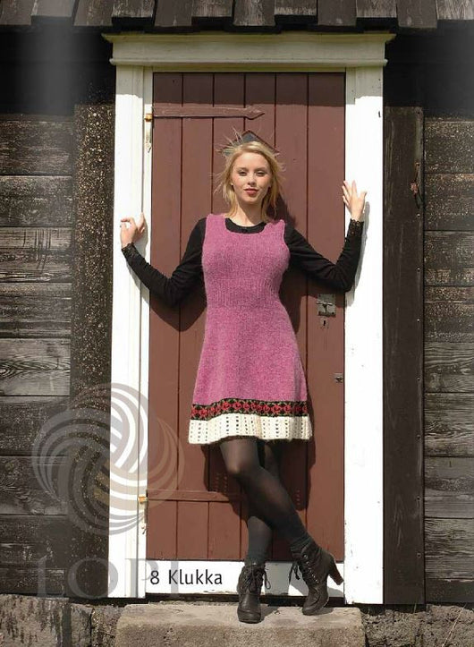 - Icelandic Klukka Women Wool Dress - Tailor Made - Nordic Store Icelandic Wool Sweaters  - 1