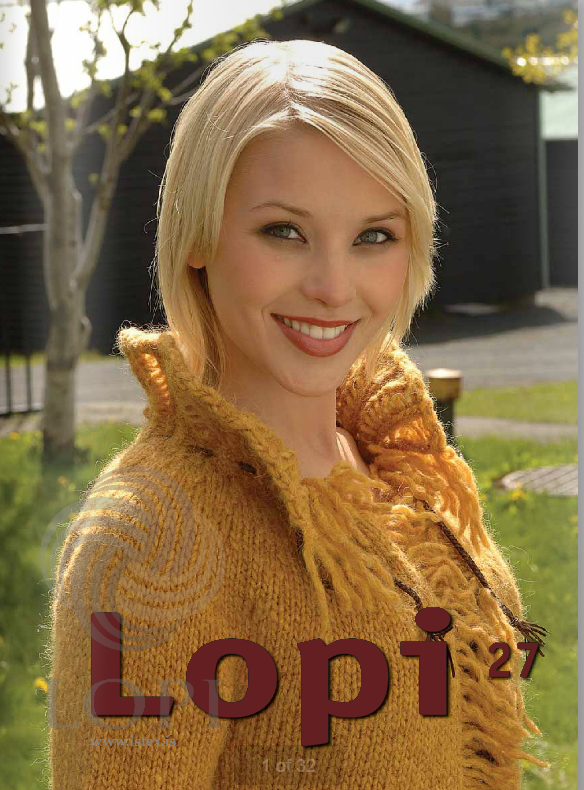 Icelandic sweaters and products - Lopi Pattern Book No. 27 Pattern Book - NordicStore