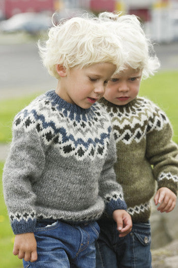 Icelandic sweaters and products - Kids Wool Pullovers Wool Sweaters - NordicStore