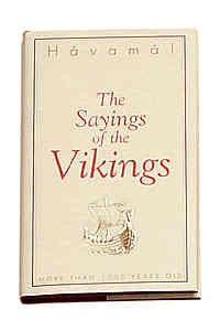 - Icelandic The Saying of the Vikings - Book - Nordic Store Icelandic Wool Sweaters