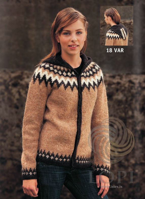 Icelandic sweaters and products - Var Women Wool Cardigan Tailor Made - NordicStore