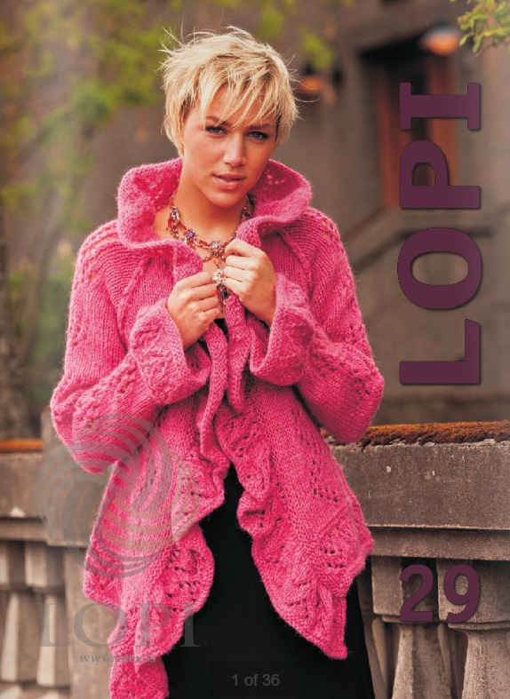 Icelandic sweaters and products - Lopi Pattern Book No. 29 Pattern Book - NordicStore