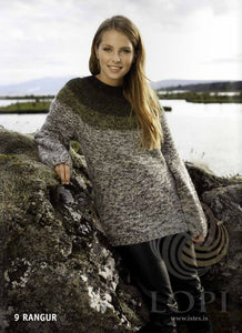 - Icelandic Rangur Women Wool Sweater Grey - Tailor Made - Nordic Store Icelandic Wool Sweaters  - 1