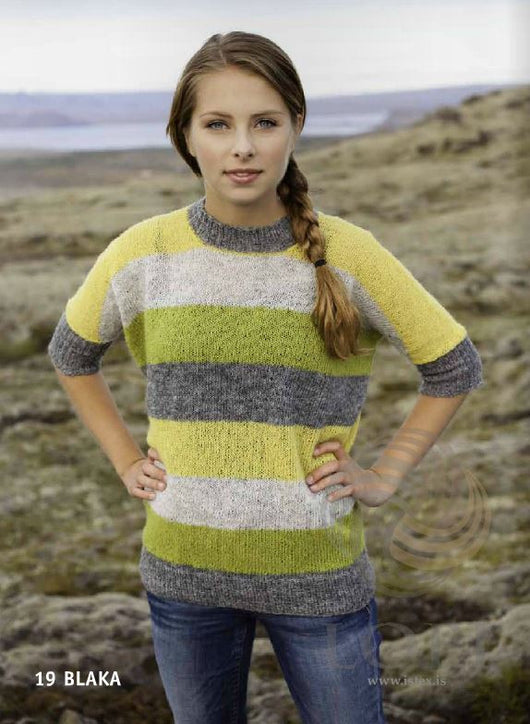 Icelandic sweaters and products - Blaka Women Wool Sweater Tailor Made - NordicStore