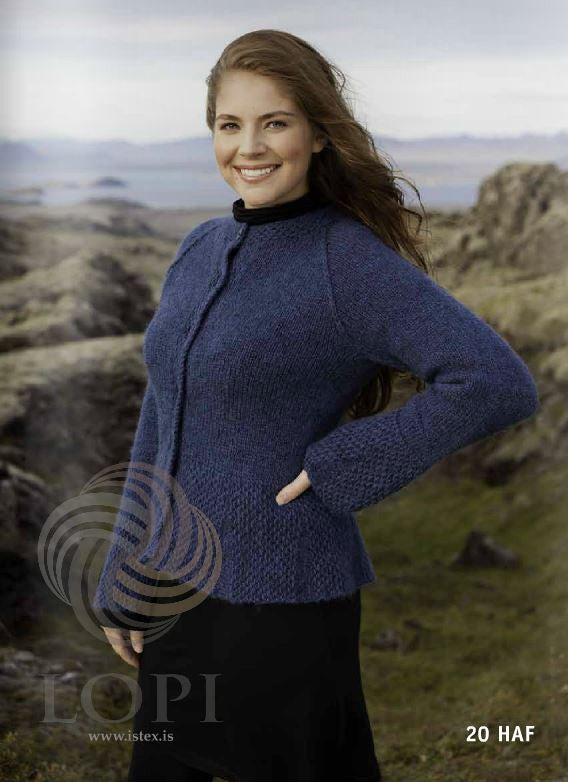 Icelandic sweaters and products - Haf Women Wool Cardigan Tailor Made - NordicStore