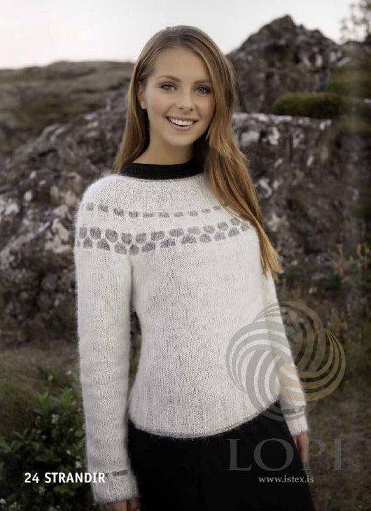 - Icelandic Strandir (Beaches) Women Wool Sweater - Tailor Made - Nordic Store Icelandic Wool Sweaters  - 1