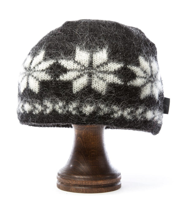 Brushed Wool Hat Black