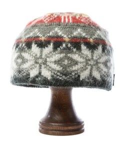Brushed Norwegian Wool Hat Green