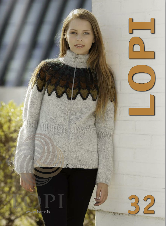Icelandic sweaters and products - Lopi Pattern Book No. 32 Pattern Book - NordicStore