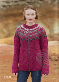 - Icelandic Blær Women Wool Cardigan - Tailor Made - Nordic Store Icelandic Wool Sweaters  - 1
