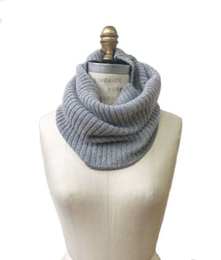 Wool Collar Light Grey