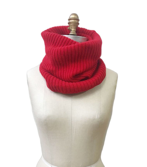 Wool Collar Red
