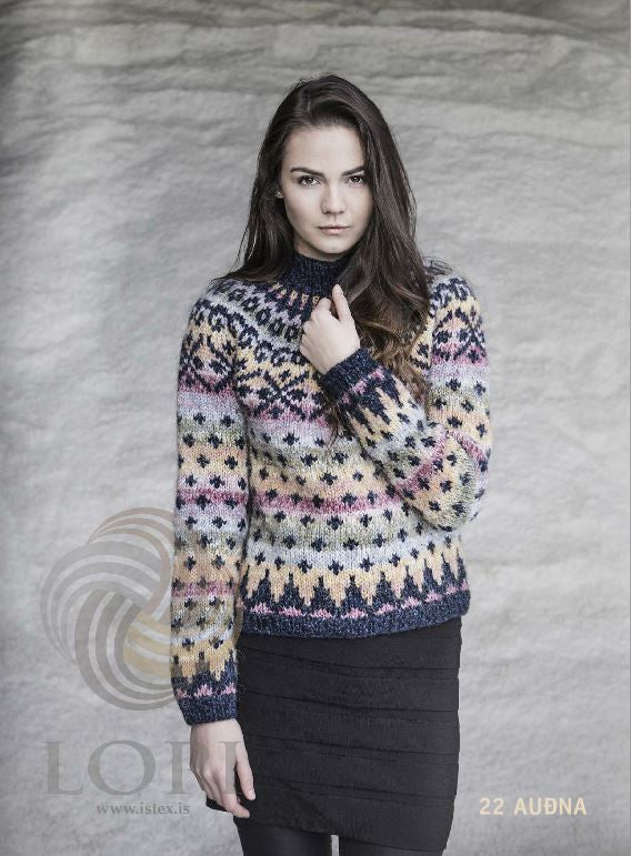 Icelandic sweaters and products - Auðna Women Wool Sweater Tailor Made - NordicStore