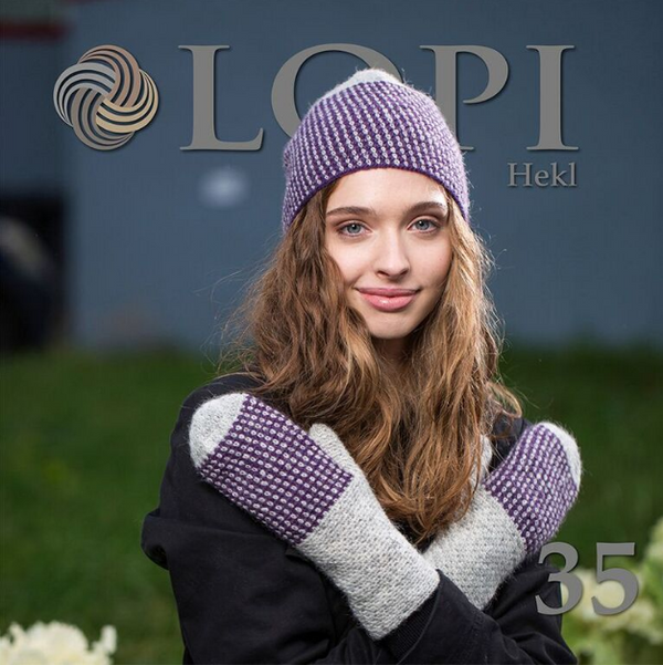 Icelandic sweaters and products - Lopi Pattern Book No. 35 Pattern Book - NordicStore
