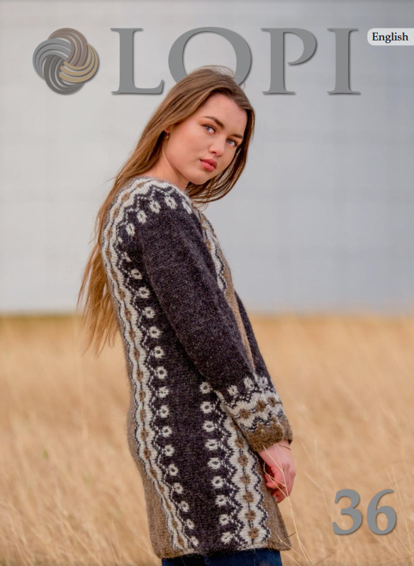 Icelandic sweaters and products - Lopi Pattern Book No. 36 Pattern Book - NordicStore