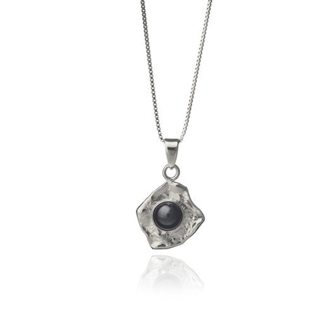 Icelandic Products Black lava tear necklace - Pearl Jewelry - NordicStore