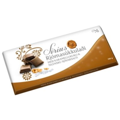 Icelandic sweaters and products - Noi Sirius Bar 150gr w/ Caramel and Sea Salt Candy - NordicStore