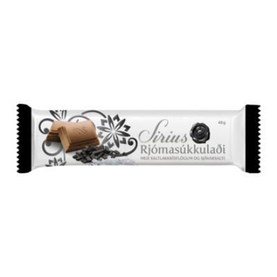 Icelandic sweaters and products - Noi Sirius Bar 46gr w/ Liquorice and Sea Salt Candy - NordicStore
