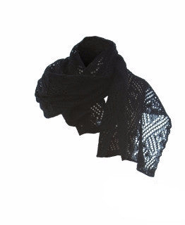 - Icelandic Ladies Wool Scarves Black - Wool Accessories - Nordic Store Icelandic Wool Sweaters